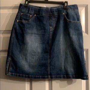 JAG Jeans Denim Mini Skirt Skort